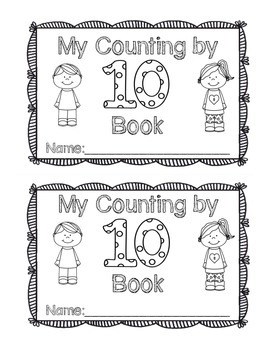 My Count by 10 Book