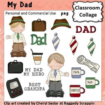 My Dad Grandpa Uncle - Color - pers/com  briefcase tie coffee