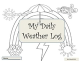 My Daily Weather Log