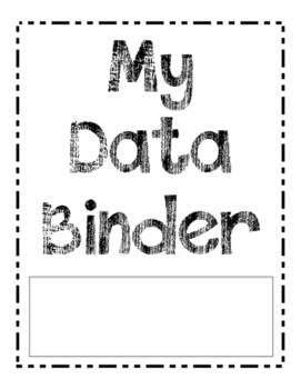 My Data Binder Cover Page