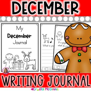 My December Writing Journal (prompts include Christmas, sn