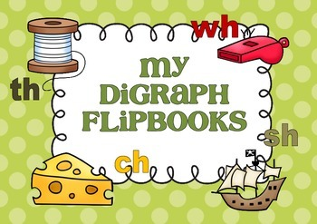 My Digraph Flip Books - Interactive Notebook