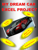 My Dream Car Excel Project