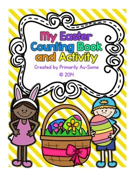 My Easter Counting Book & Activity