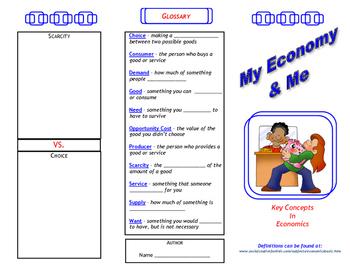 My Economy & Me Trifold
