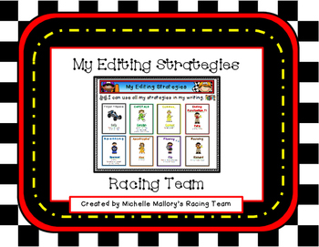 My Editing Strategies Racing Team (A Tiered Common Core Al