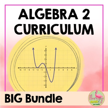 Algebra 2: A Year of Curriculum Foldables-Activities-Revie