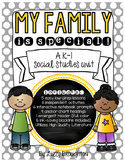 My Family Is Special! - A K-1 Social Studies Unit