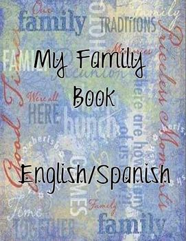 My Family Student Book English/Spanish