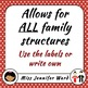 Kazoku / My Family Tree Activity