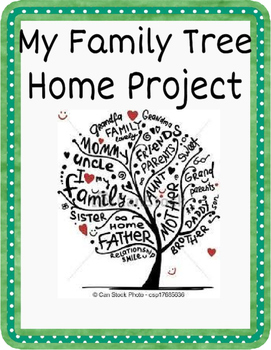 My Family Tree - home project