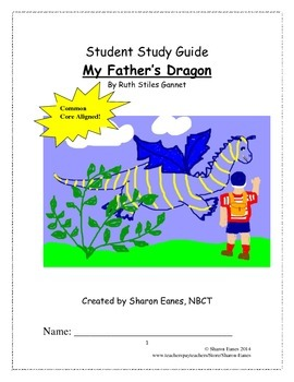 My Father's Dragon Student Study Guide and Reading Response