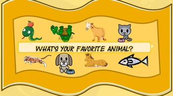Smart Board Game- What's Your Favorite Animal?