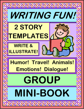 """Write a Group Story!"" - Write a Group Mini-Book for Creat"