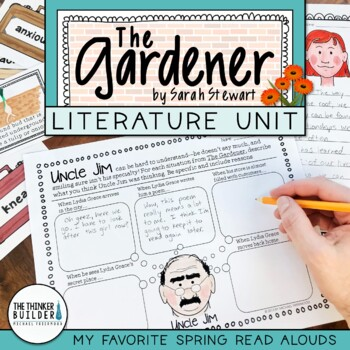 The Gardener Literature Unit {My Favorite Read Alouds}