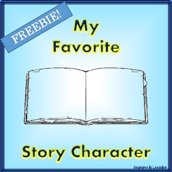 My Favorite Story Character-Freebie