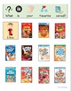 My Favorites FREEBIE (cartoons, movies, cereal, & restaurants)