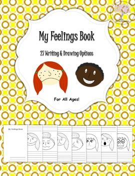 My Feelings Book- Options for all Ages