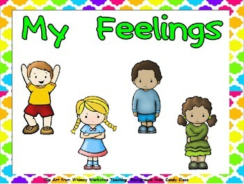 My Feelings Shared Reading for Kindergarten..All About Me