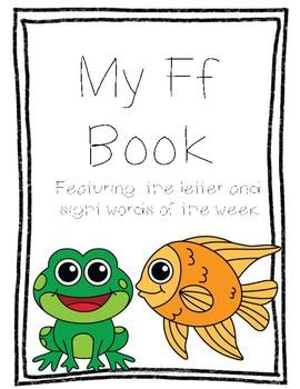 Letter Ff Book