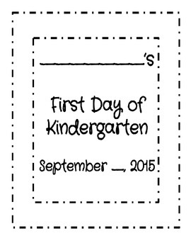 My First Day of K