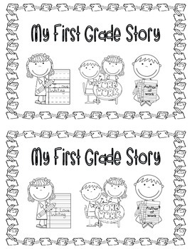 My First Grade Story (Memory Book)