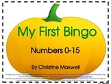 Free! My First Number Bingo Game for Fall, Halloween and T