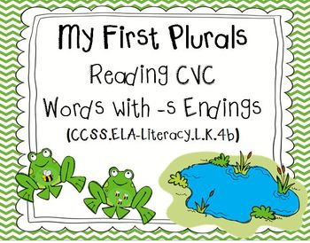 My First Plurals, Reading CVC Words with -s Endings