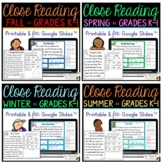 My First Close Reading - BUNDLE