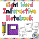 My First Sight Word Interactive Notebook