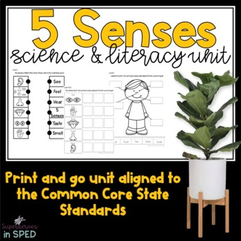 My Five Sense-A Science and Literacy Unit