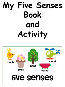 My Five Senses Book and Activity