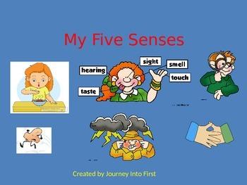 My Five Senses (Unit 2) Journeys Kindergarten Common Core