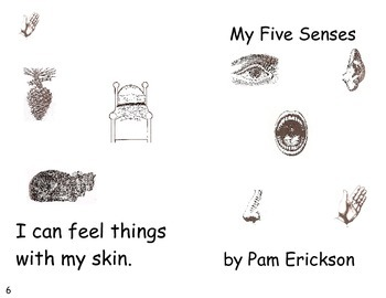 My Five Senses- a non-fiction guided reading book