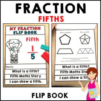 My Fraction Flip Book Fifth - Independent Activities Forma