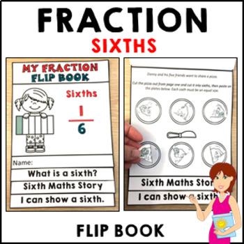My Fraction Flip Book Sixths - Independent Activities Form