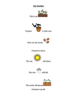 My Garden Poem