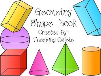 My Geometry Book - Freebie