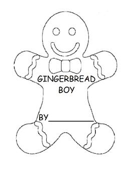 My Gingerbread Boy (Speech, Adapted Book, Vocabulary, Autism)