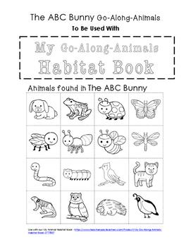 My Go-Along-Animals (The ABC Bunny)