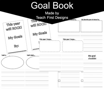 My Goal Book, Create School Goals