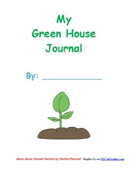 My Greenhouse Journal- Plants