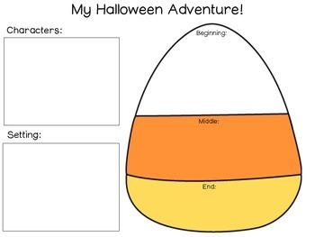 My Halloween Adventure Writing FREEBIE Halloween Bash 2014