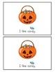 My Halloween Book emergent reader