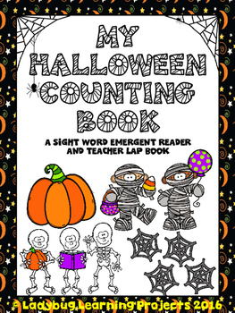 My Halloween Counting Book  (A Sight Word Emergent Reader