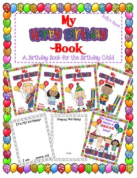 My Happy Birthday Book  A Birthday Book for the Birthday Child