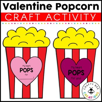 My Heart Pops For You Cut and Paste