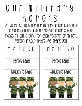 My Hero - Honoring Our Veteran's {FREE}