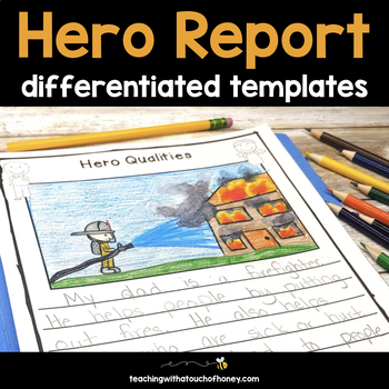 My Hero Report: Tiered Report Writing Templates
