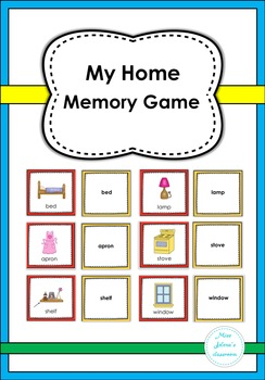 My Home Memory Game